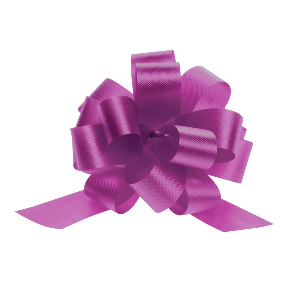 4 (W) Magenta Pull Bows