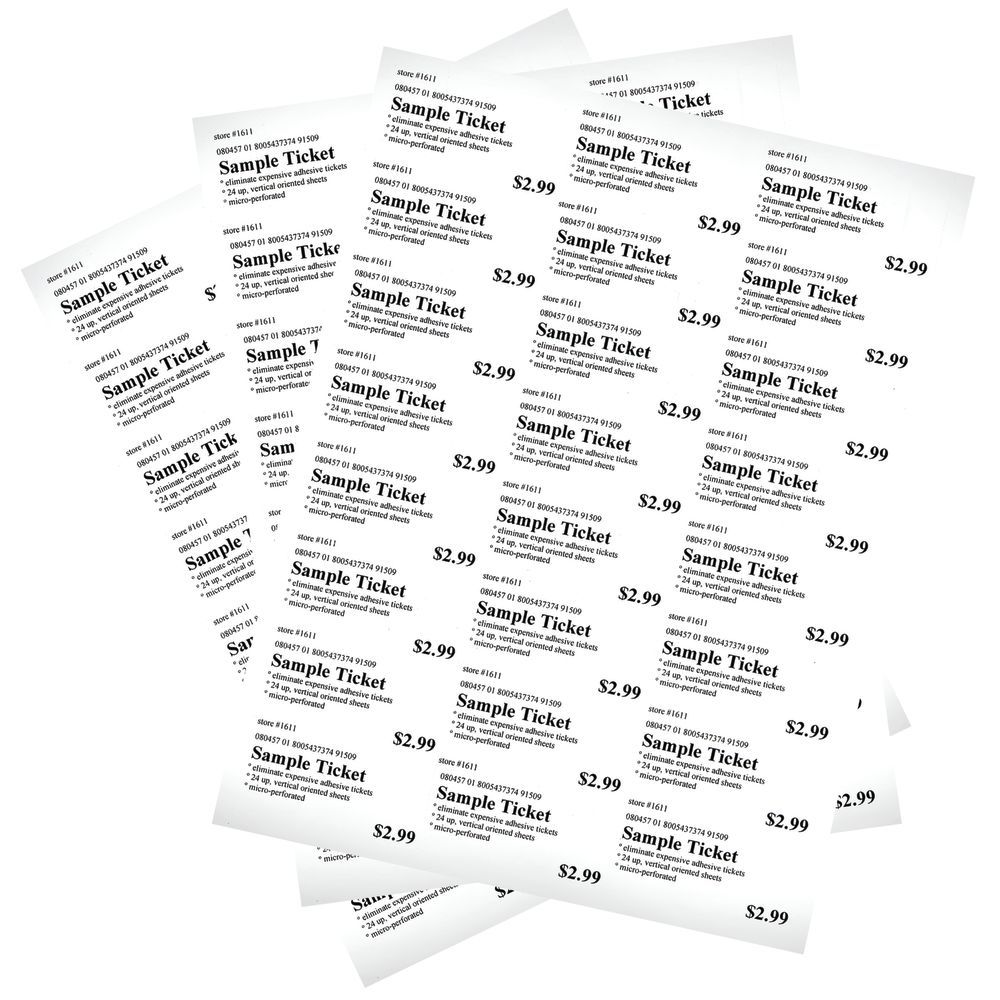 PAPER, SHELF, PERFORATED, 1.25X2.5, 1000SHTS