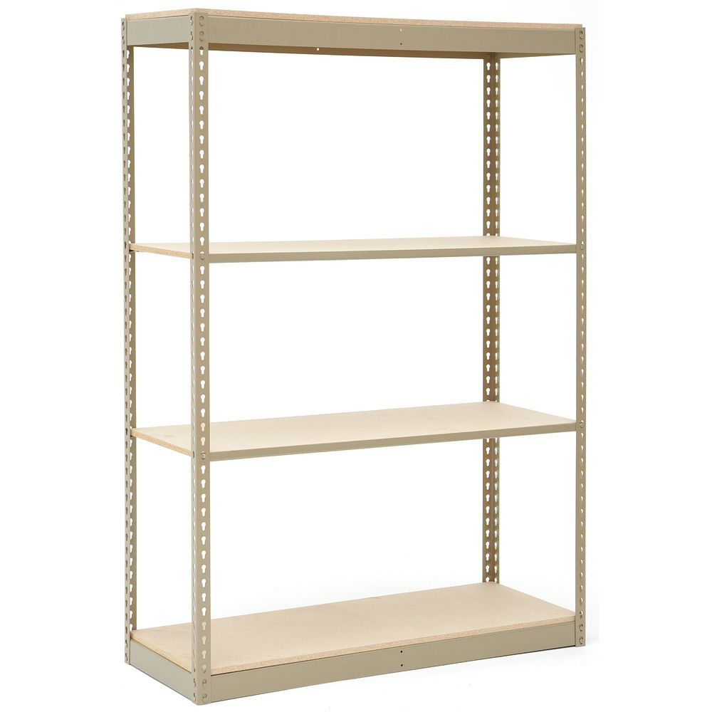 Steel Shelving Unit Requires no Hardware