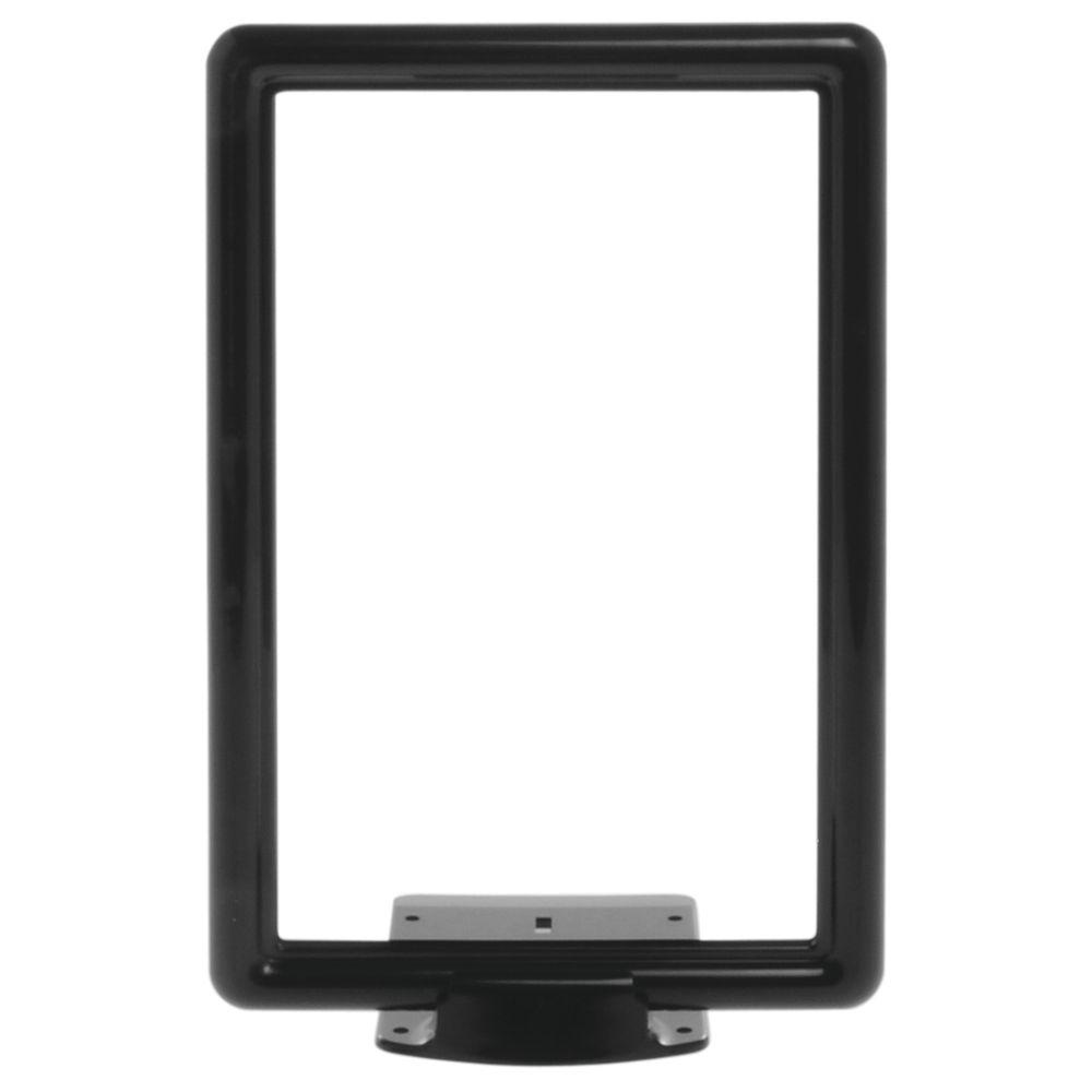 11 x 7 Retail Sign Display, Black, Wedge Base