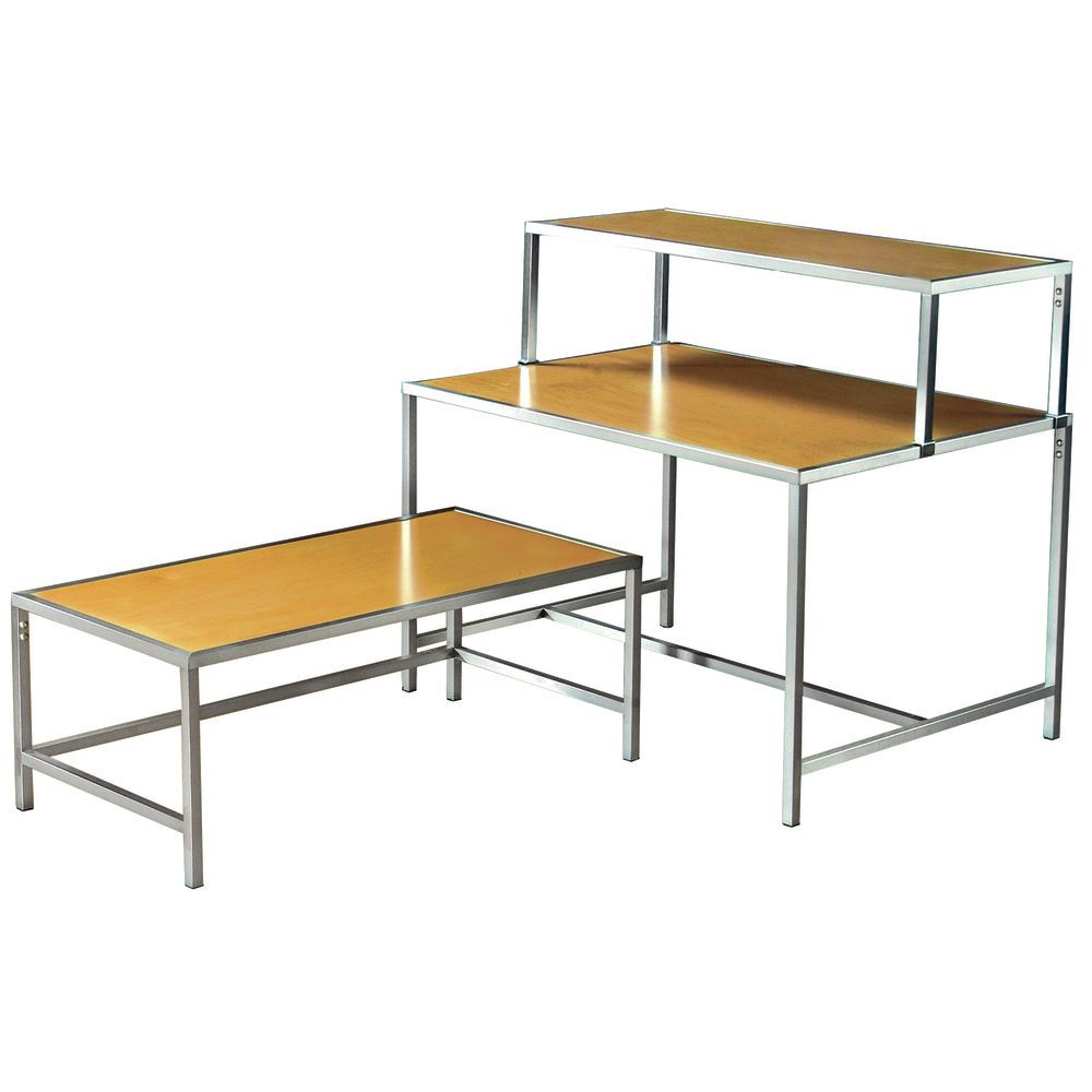 Chrome Stacking Tables