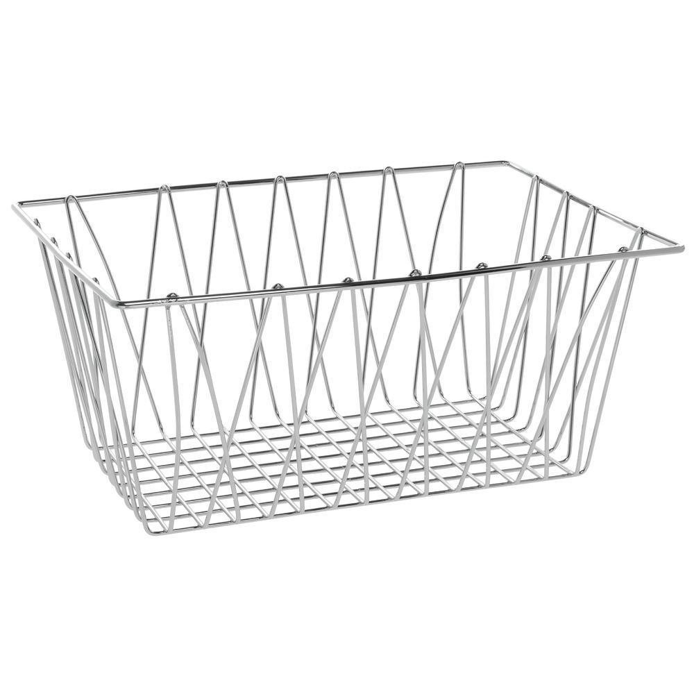 Chrome Wire Basket for Baked Goods Display