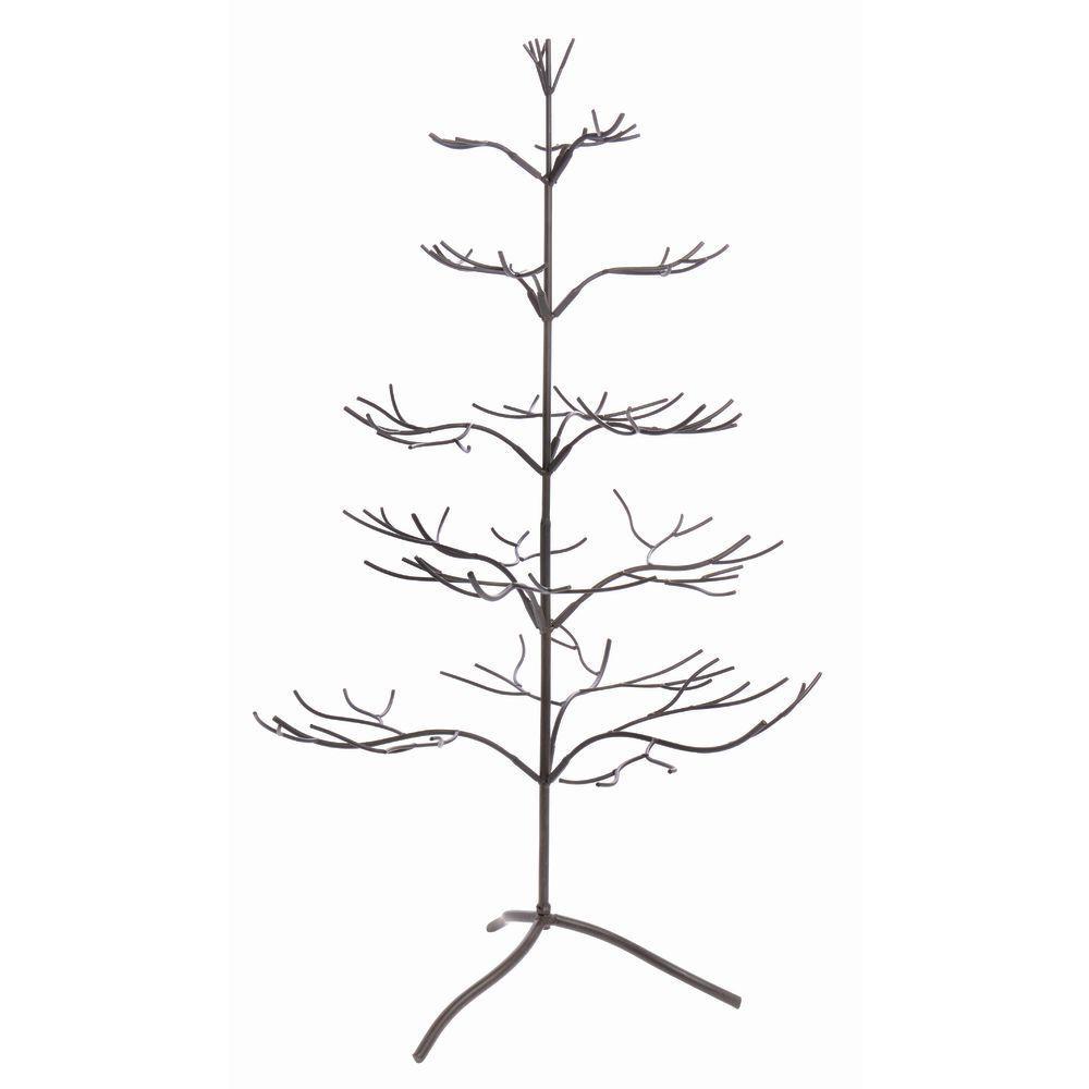 Brown Jewelry Display Tree