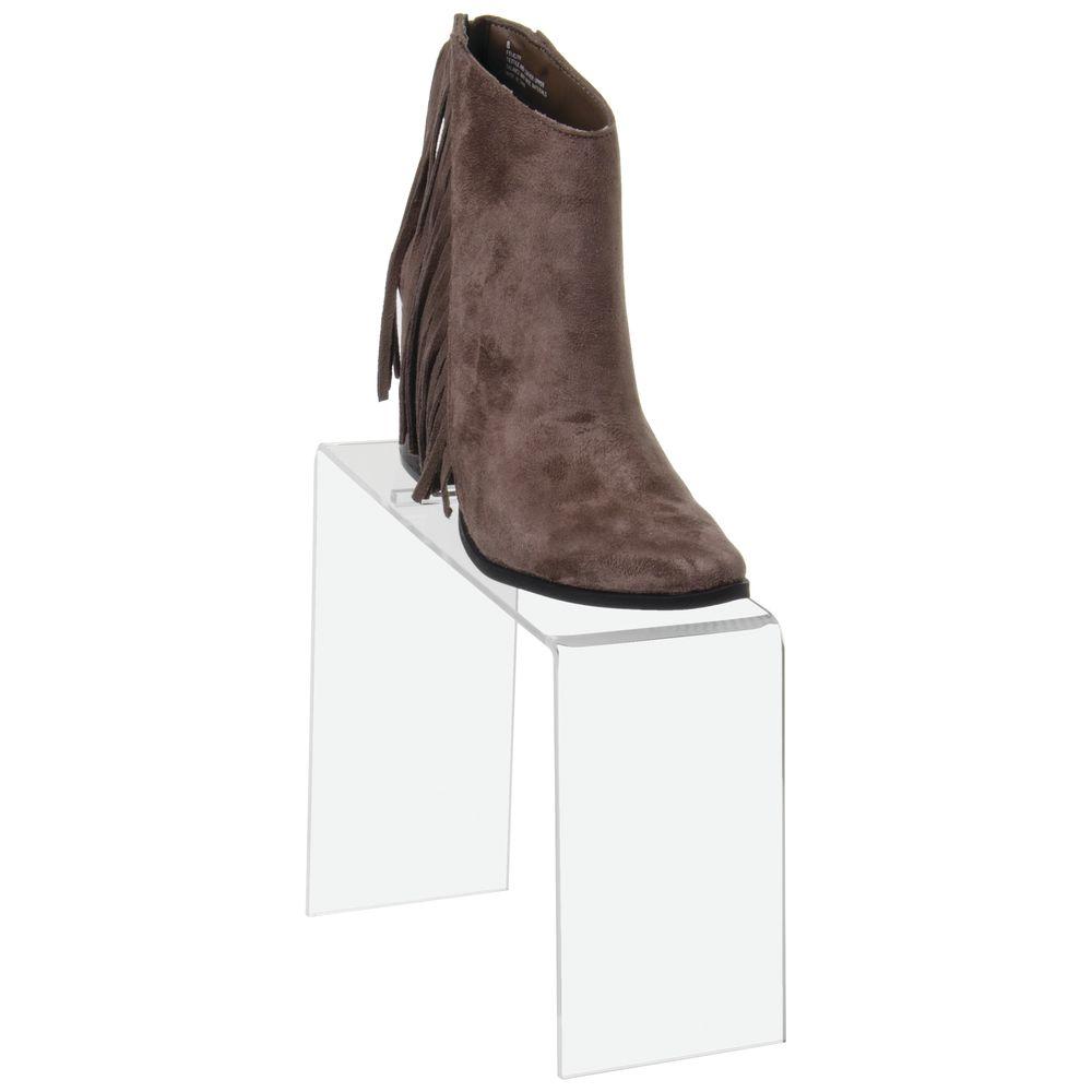 Acrylic Shoe Riser Slanted