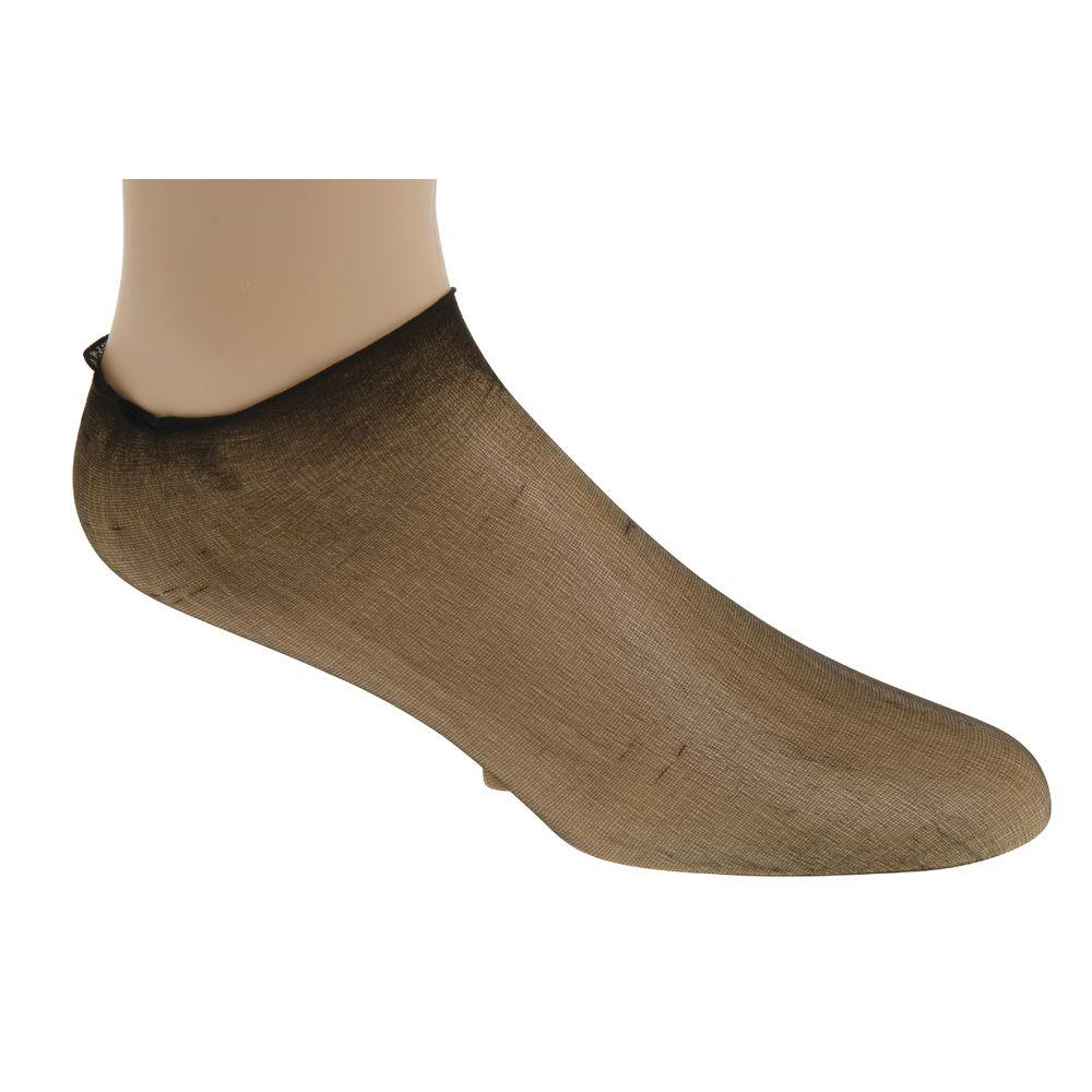 FOOT PROTECTION, NYLON, MEN'S, BLACK, 144/BX