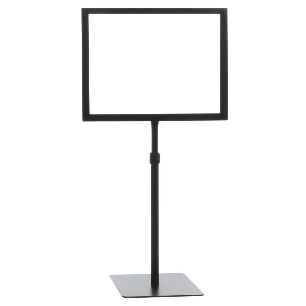 """11"""" x 8 1/2"""" Tabletop Sign Holders, Horizontal"""