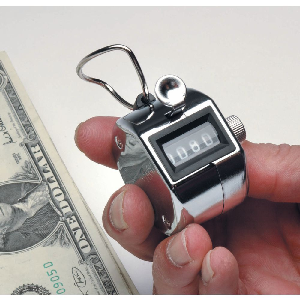 Thumb Operated Hand Tally Counter