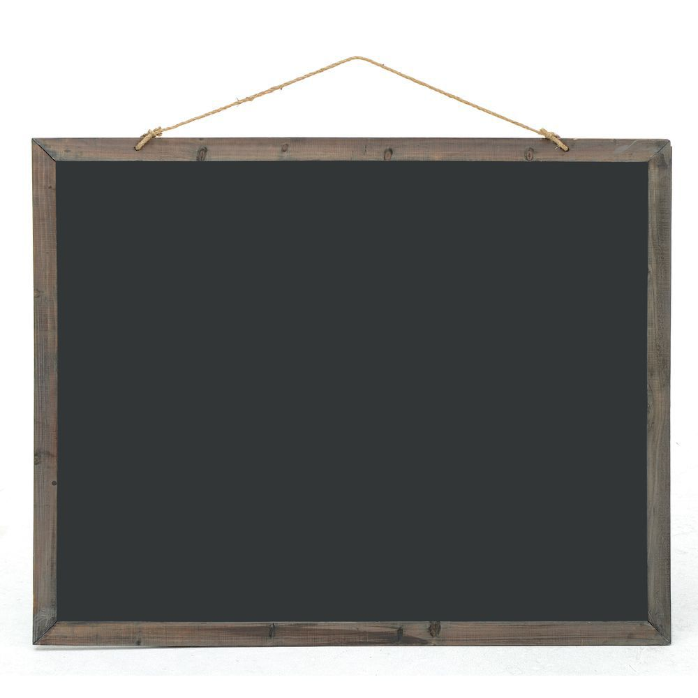 Large frame double sided hanging chalkboard for Large a frame
