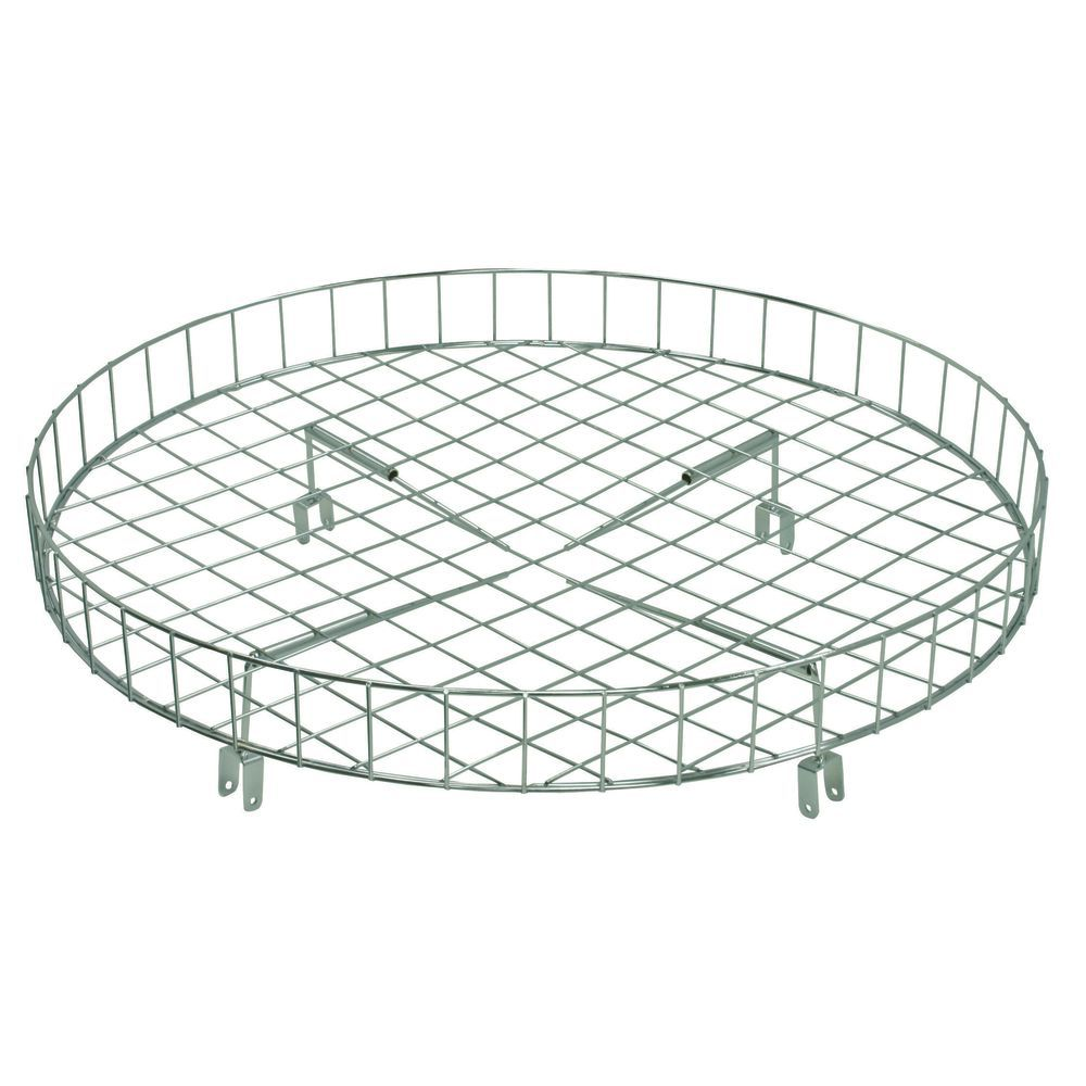 Round Garment Rack shelf Basket