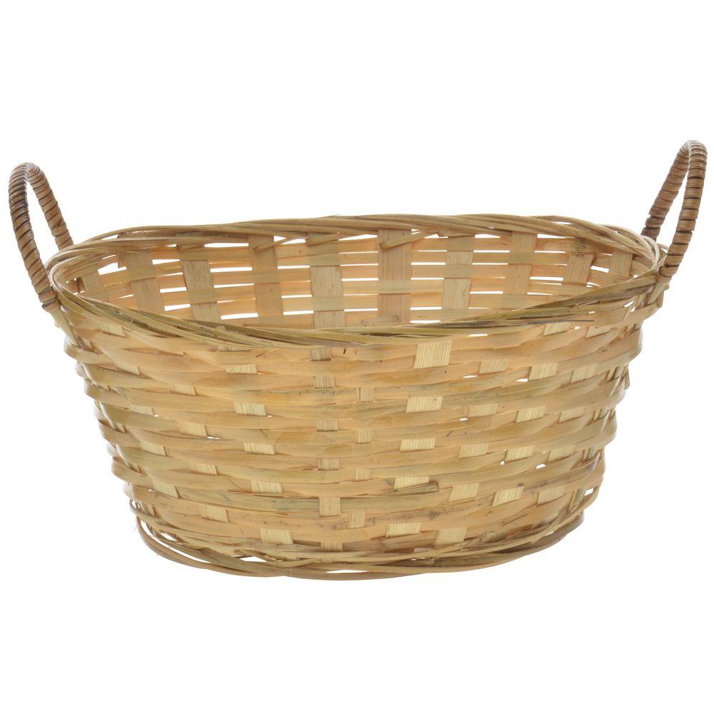 9 x 7 x 4 Bamboo Gift Basket