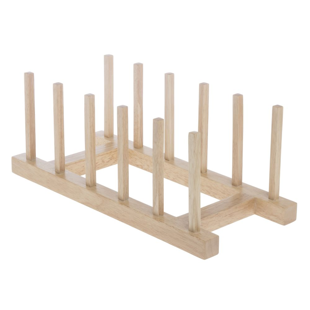 PLATE RACK FIVE SLOT WOOD NATURAL  sc 1 st  Retail Resource & Wood Plate Rack Five Slot