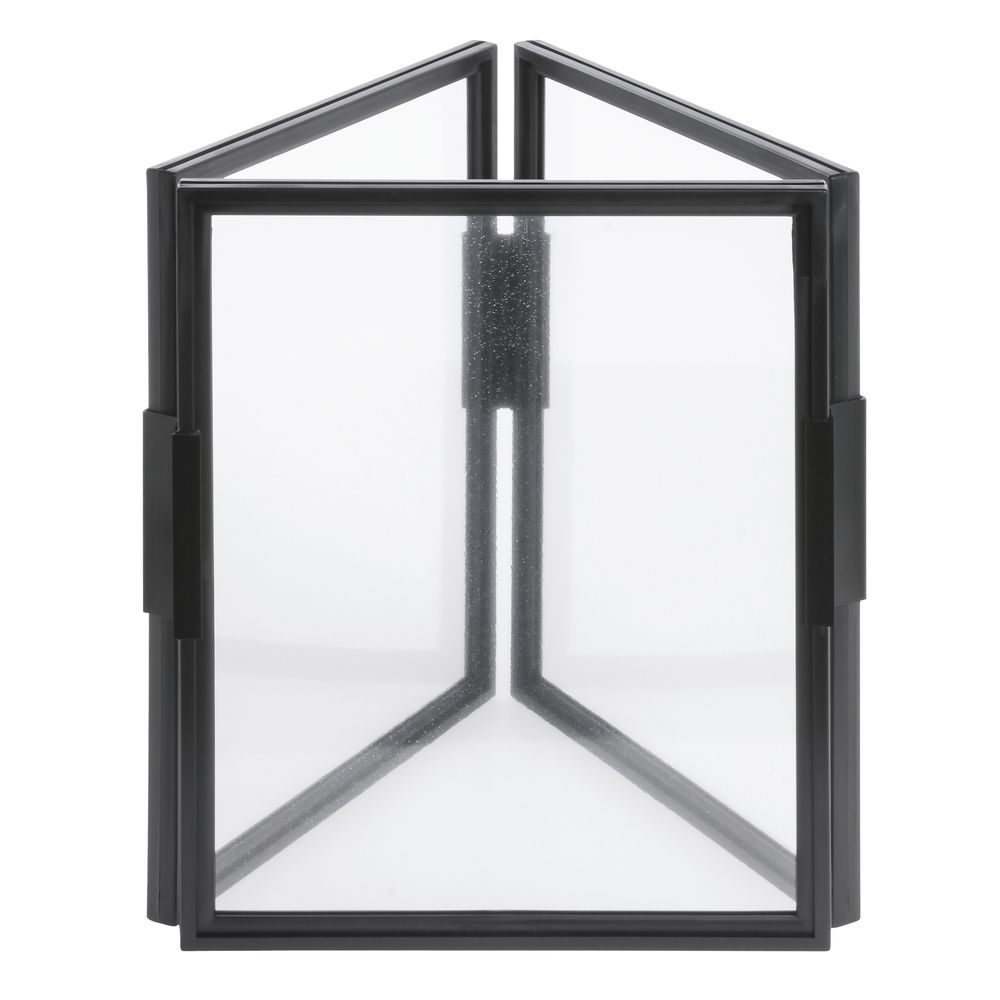 3 sided sign frame 8 1 2 x 11. Black Bedroom Furniture Sets. Home Design Ideas