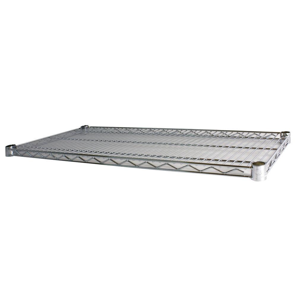 48 x 18 Chrome Wire Rack Shelving