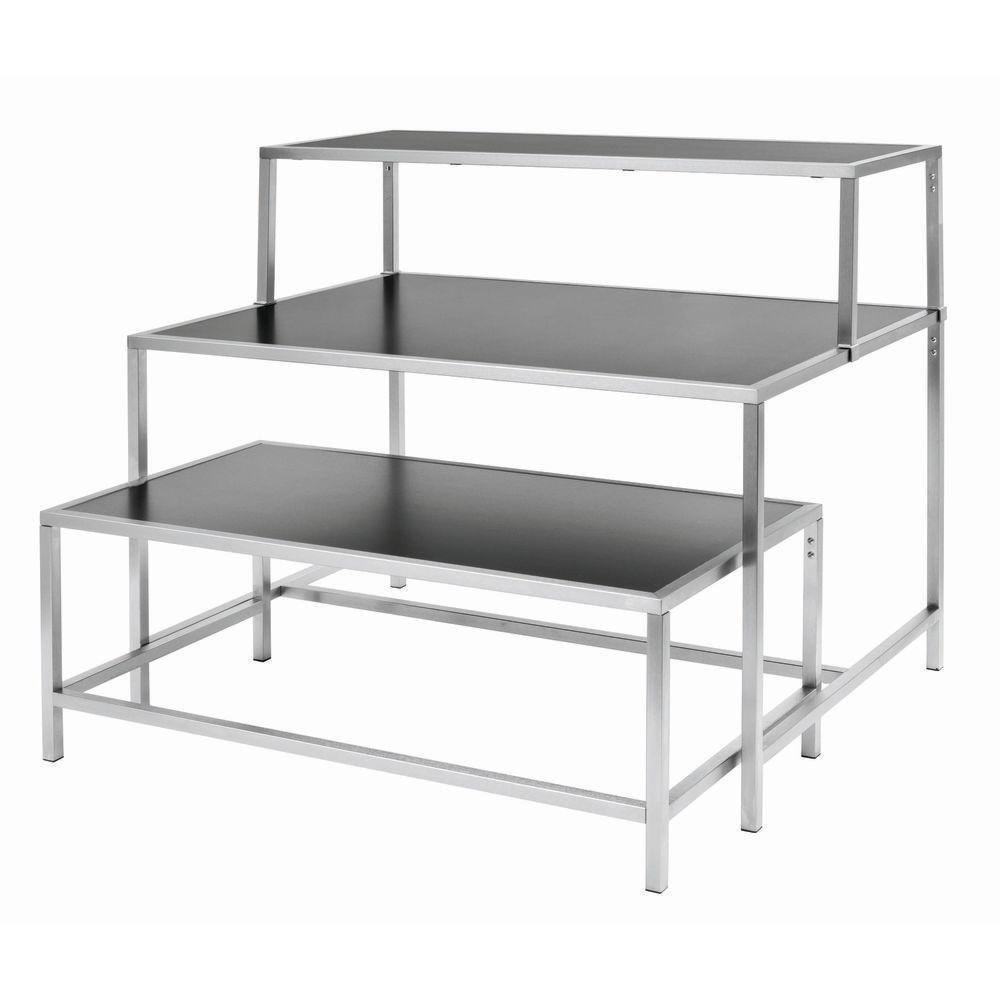 Low Black Display Table
