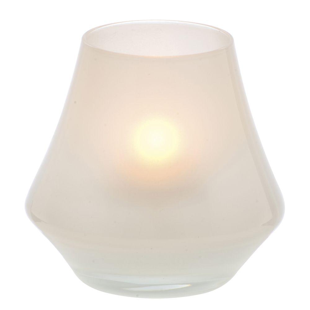 Chime™ Glass Votive Holder 2 3/4 x 3 1/2 Satin Linen