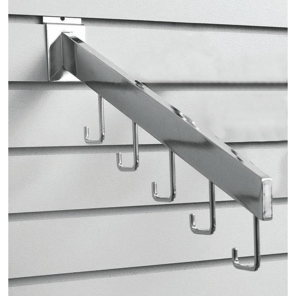 Waterfall Racks Hold Products With Straps