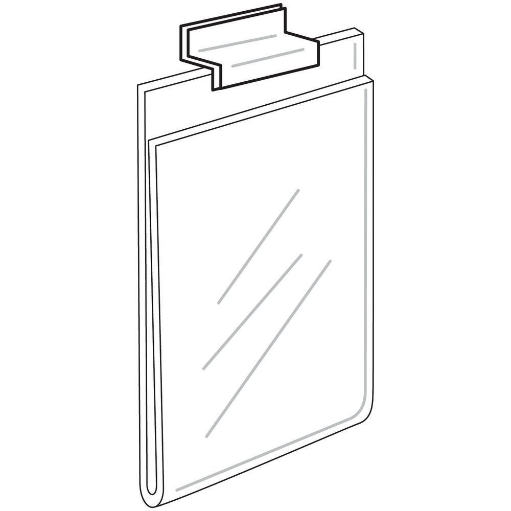 Acrylic Slatwall Sign Holder