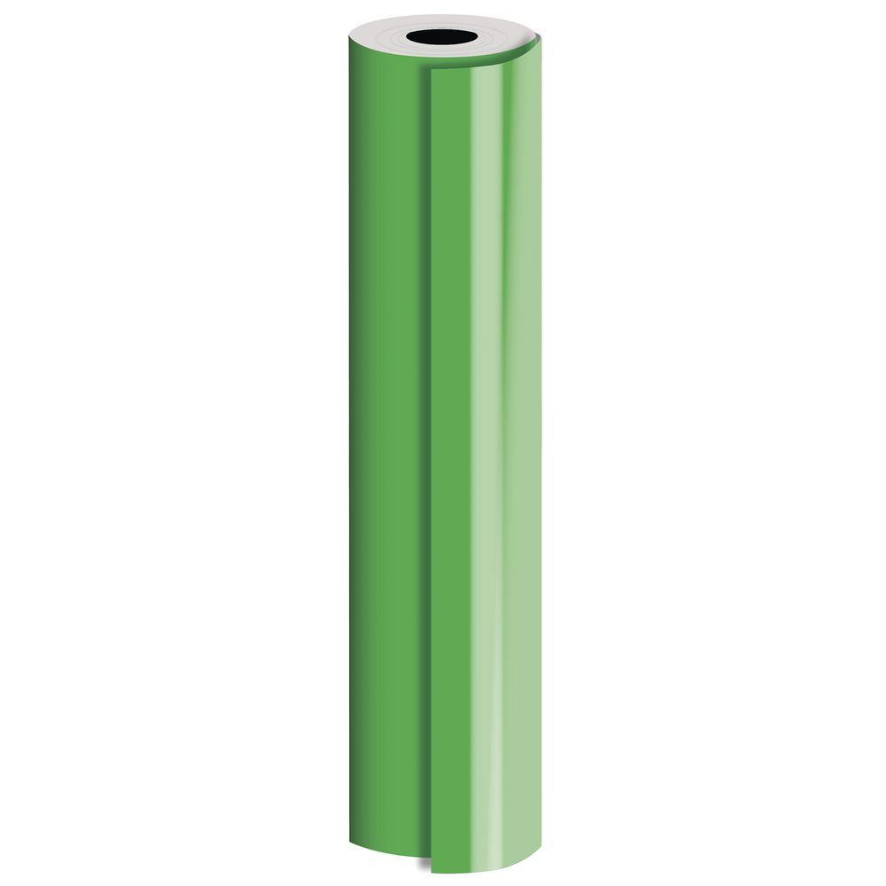 "GIFT WRAP, GREEN, MATTE, 1/2 ROLL, 24""W"