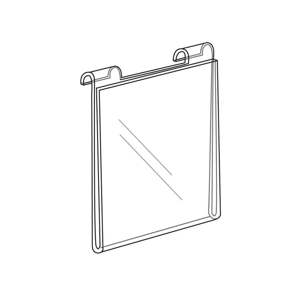 Grid Acrylic Sign Holder