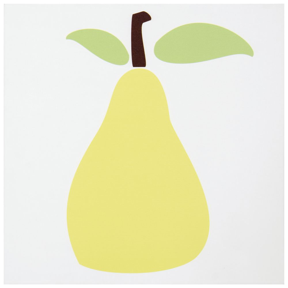 Pear Canvas Wall Art, 24 x 24