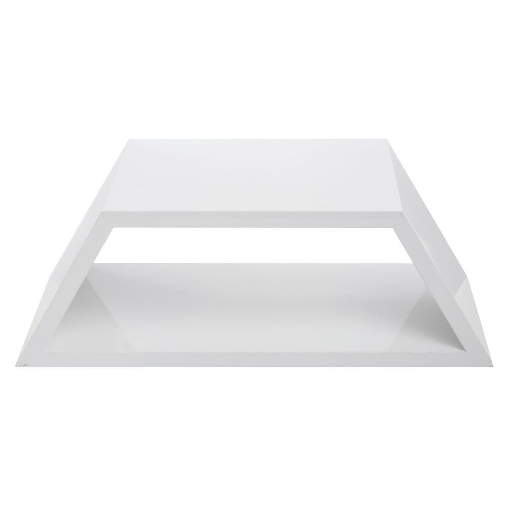 Half Hexagon Shelf