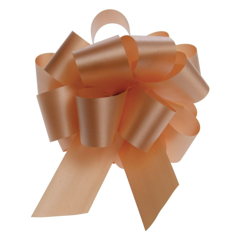 Gold Flora-Satin Pull Bows