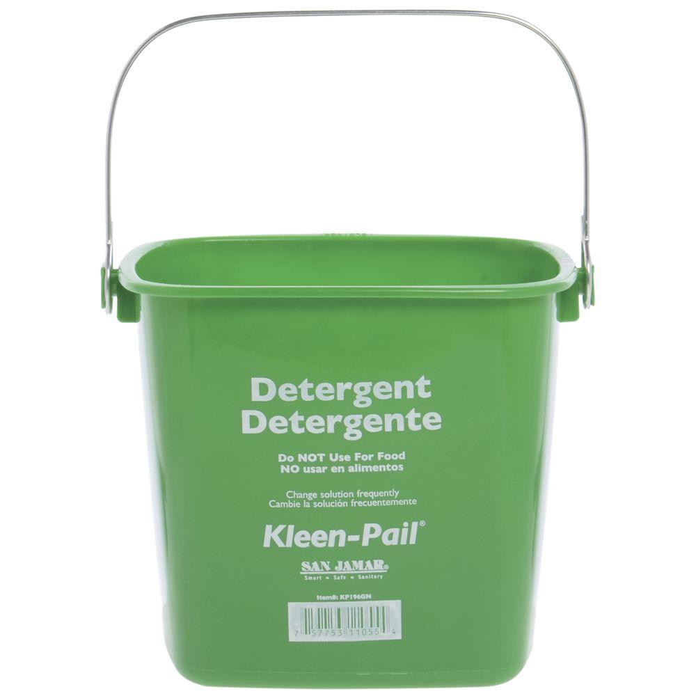 GREEN CLEANING KLEAN PAIL, 6QT/192 OZ