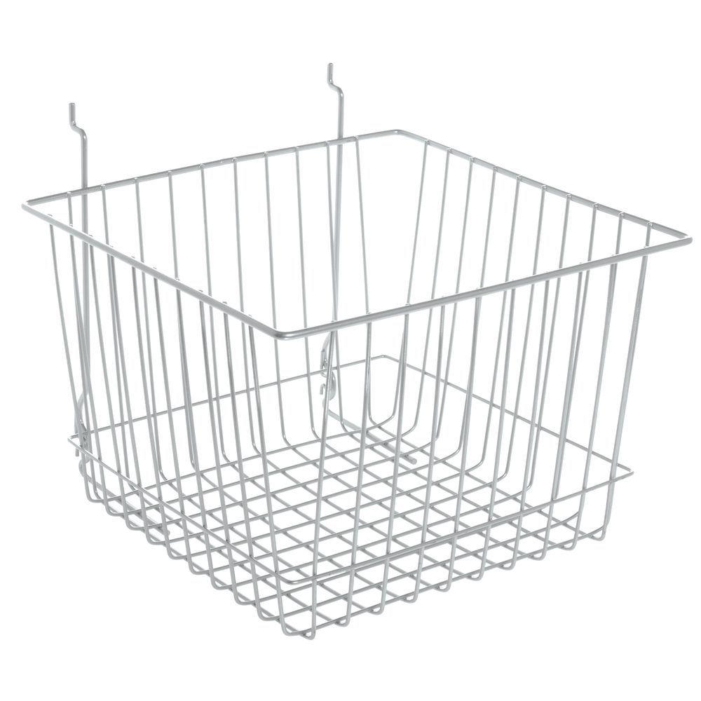Metal Baskets with a Chrome Facade