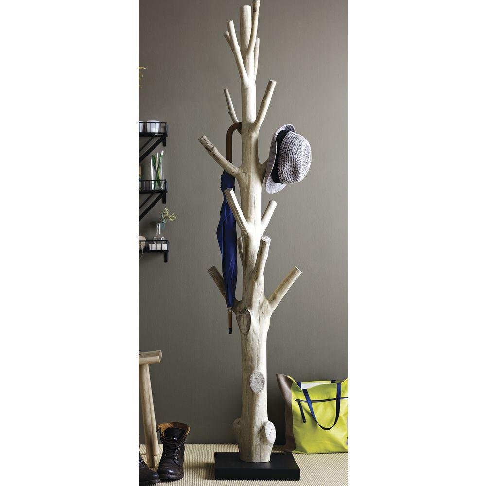 Natural Tree Coat Rack