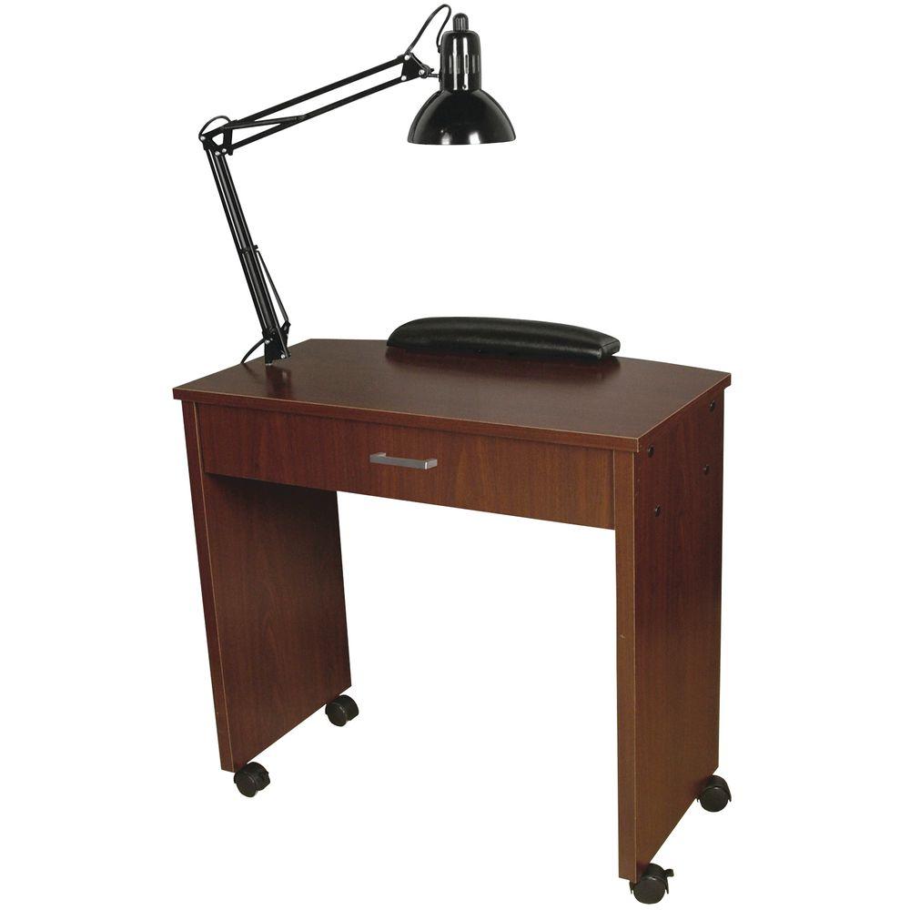 MANICURE TABLE, QSE PETITE, W/LAMP