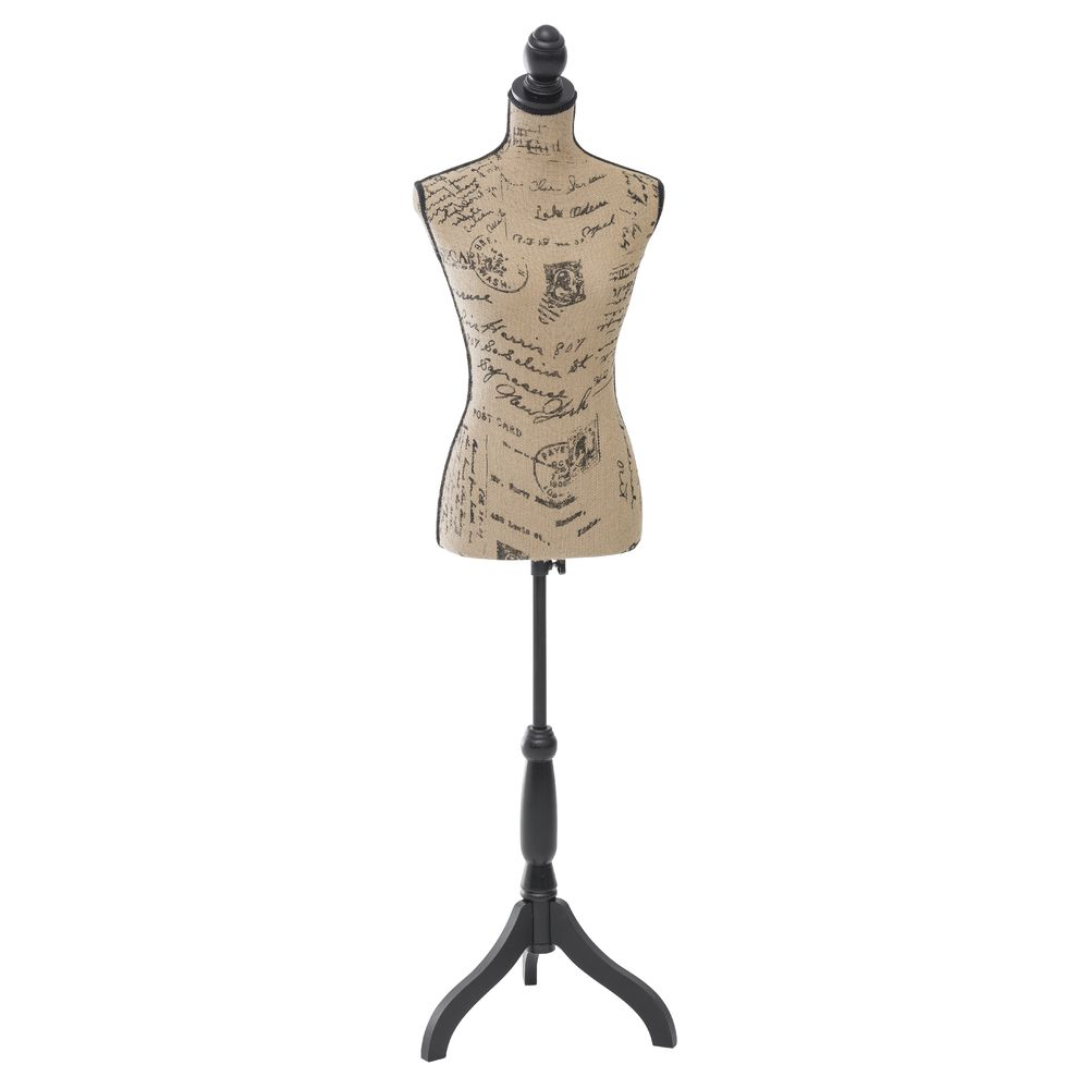 DRESS FORM, COTTON COVERED, FEMALE, TAN