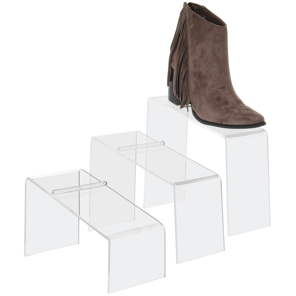 Acrylic Shoe Risers Set