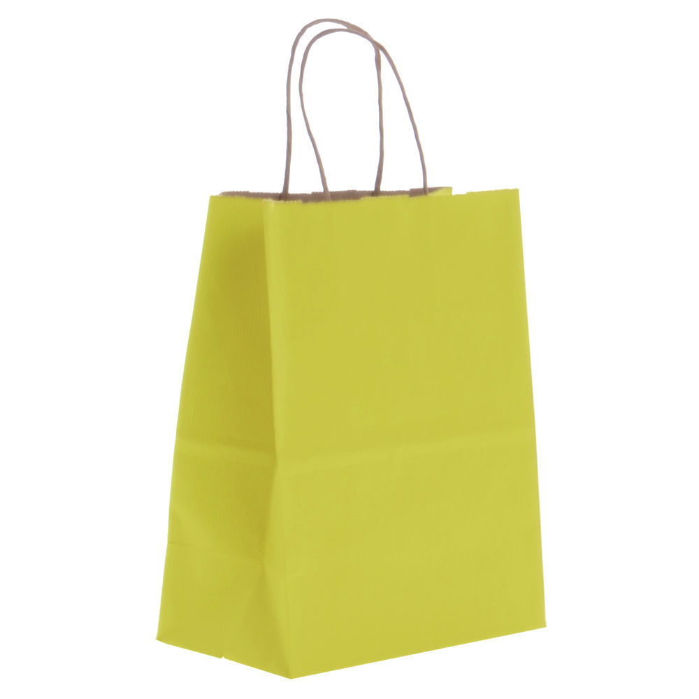 Paper Gift Bag with Bottom Gusset
