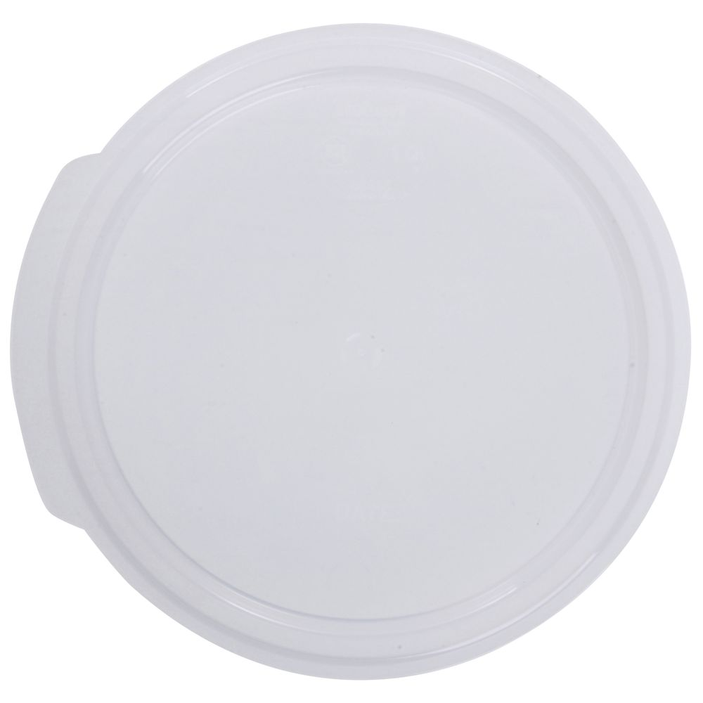 Hubert Lid Fits 1qt Food Container Plastic Clear
