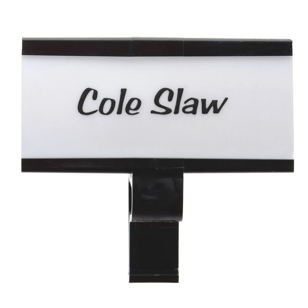 Sign Clips with White Tag