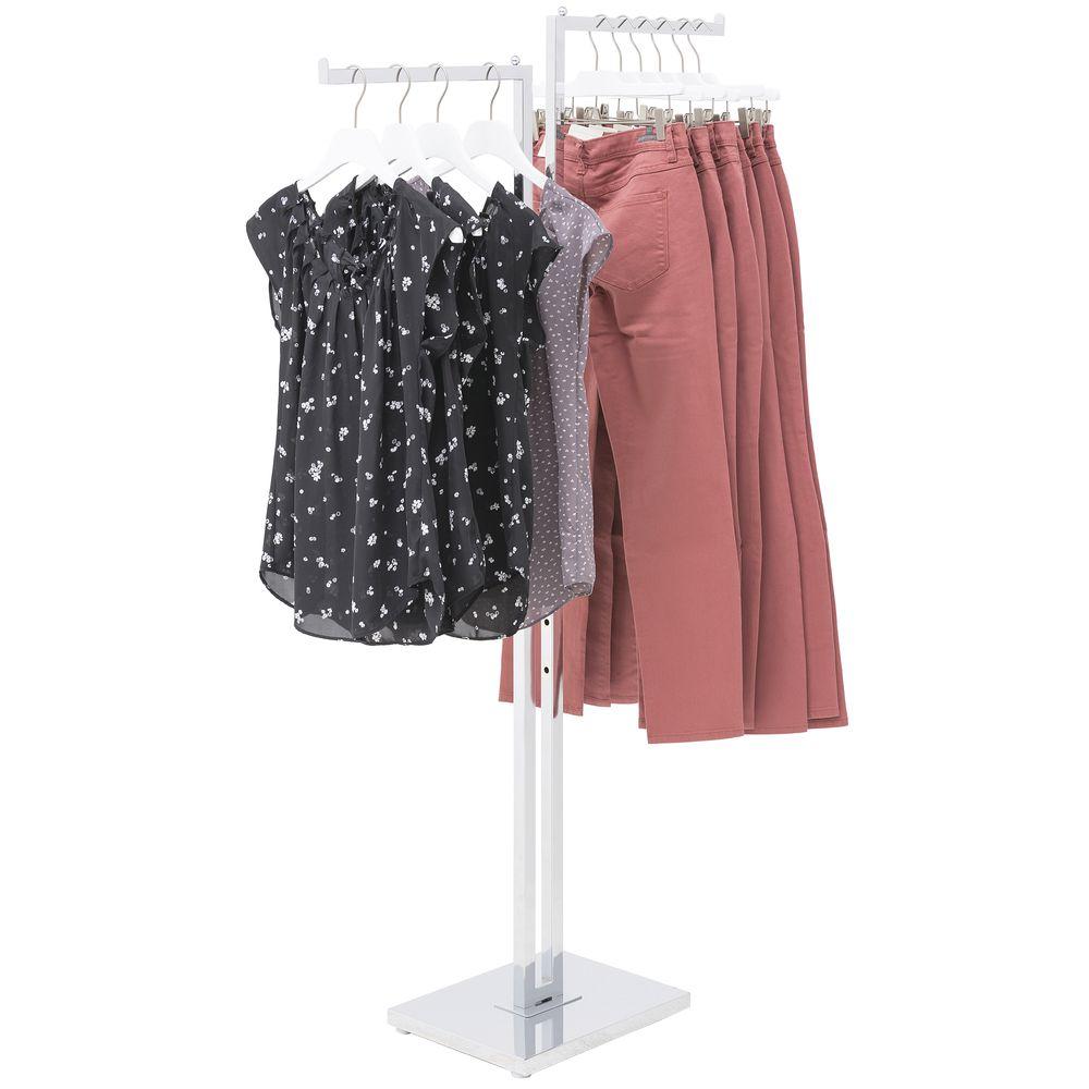 2 Way Clothing Rack Straight Arm