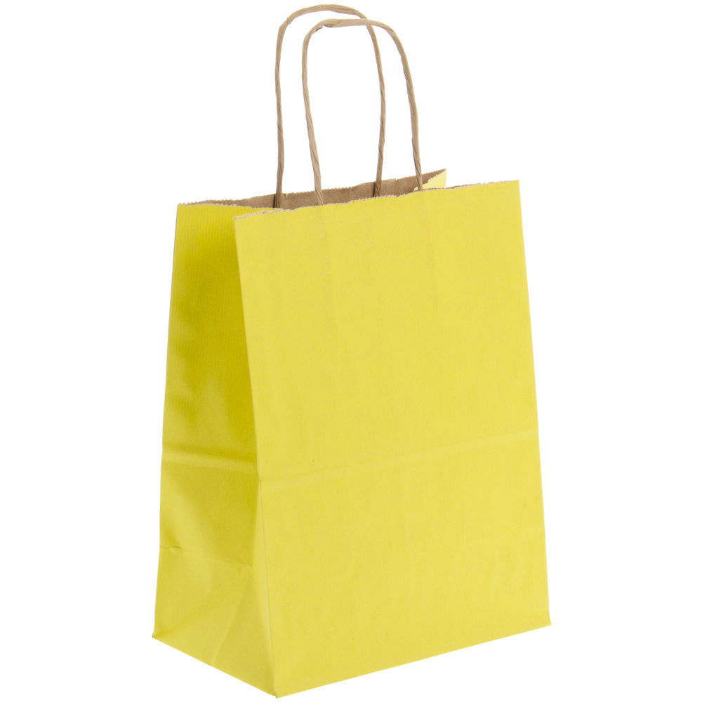 Yellow Shopping Bag