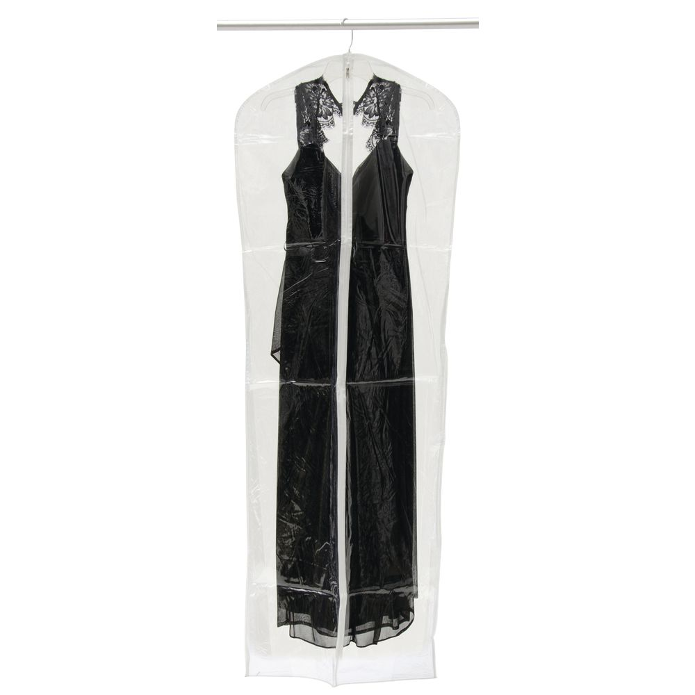 "66"" (H) Clear Plastic Garment Bags"