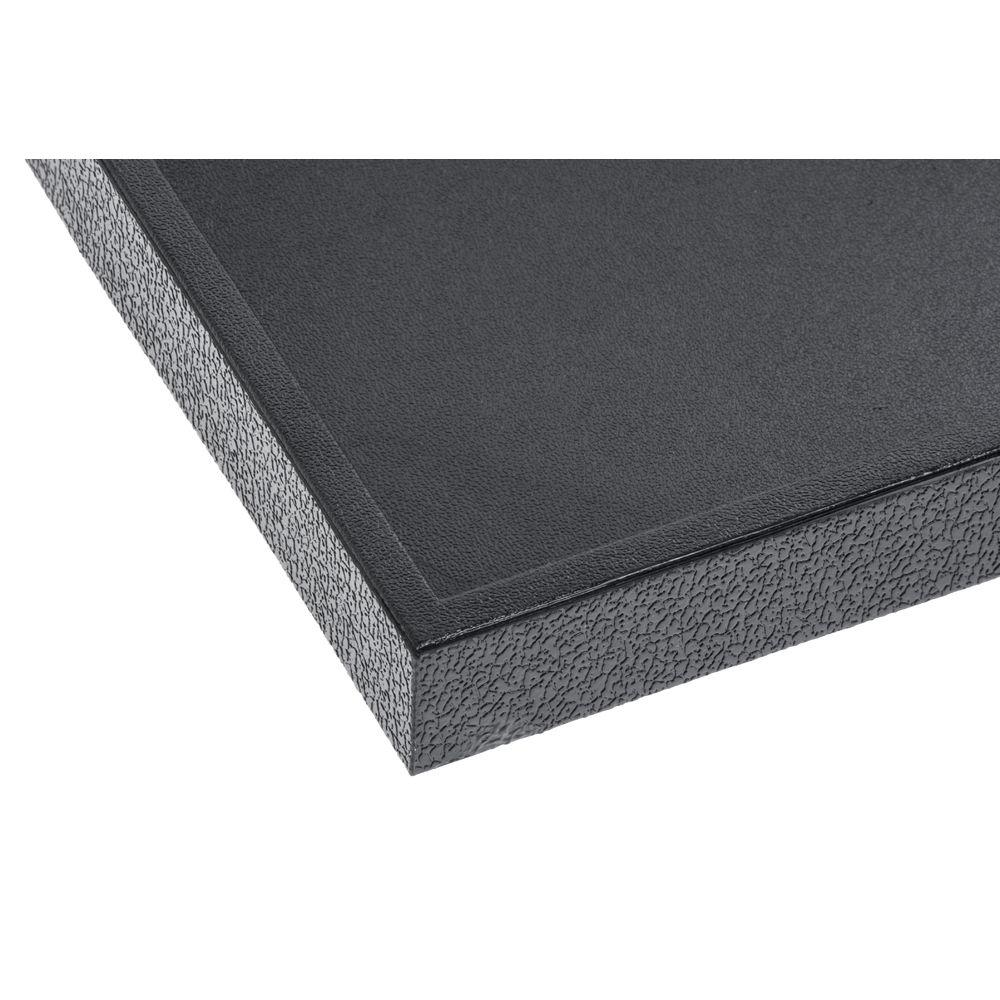 Black Plastic Jewelry Tray