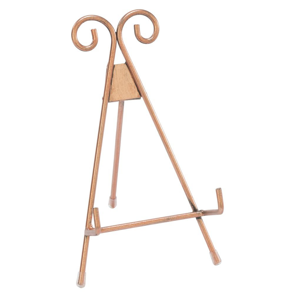 EASEL, HINGED, METAL, ROSE GOLD, SMALL