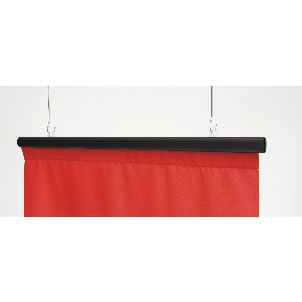 """36"""" Black Anoquick Banner Hanging Clips"""