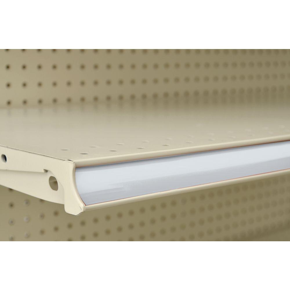 Shelf Molding Strips have Reversible Sides.