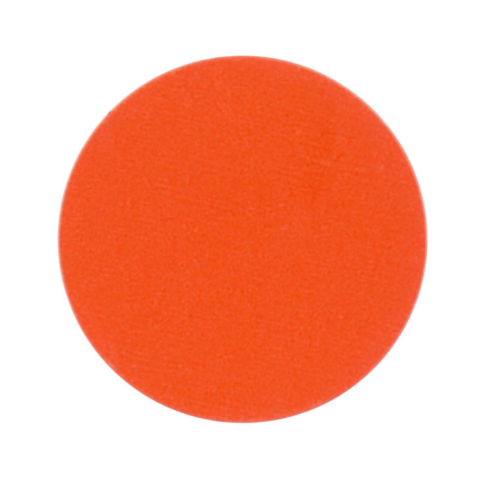 "Rotation Colored Dot Labels Orange 3/4""Dia"
