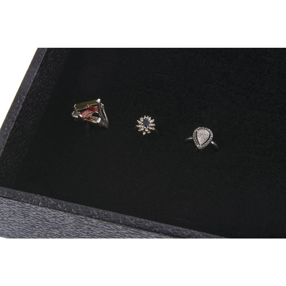 Velvet Foam Jewelry Tray Insert, Black