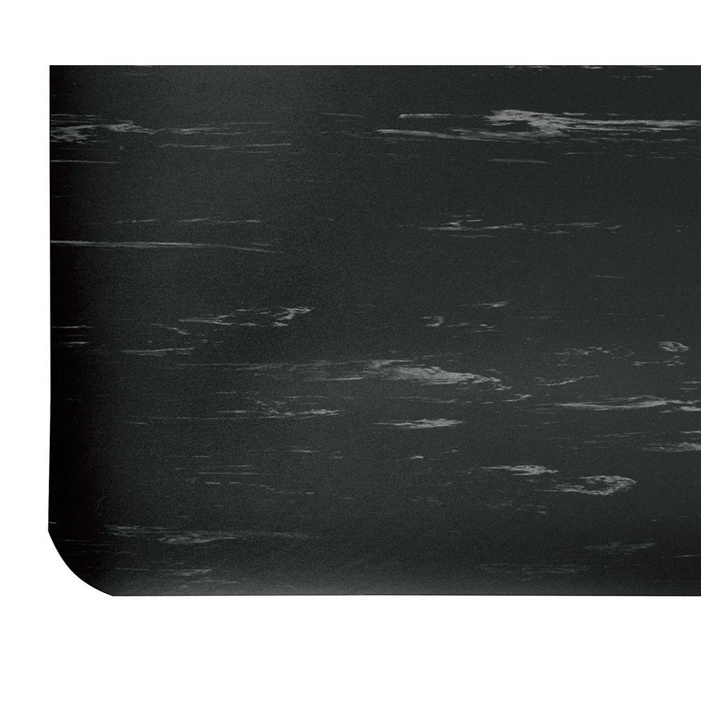 """Notrax Anti Fatigue Mat Black Vinyl 24""""W x 1/2""""H Custom Cut"""