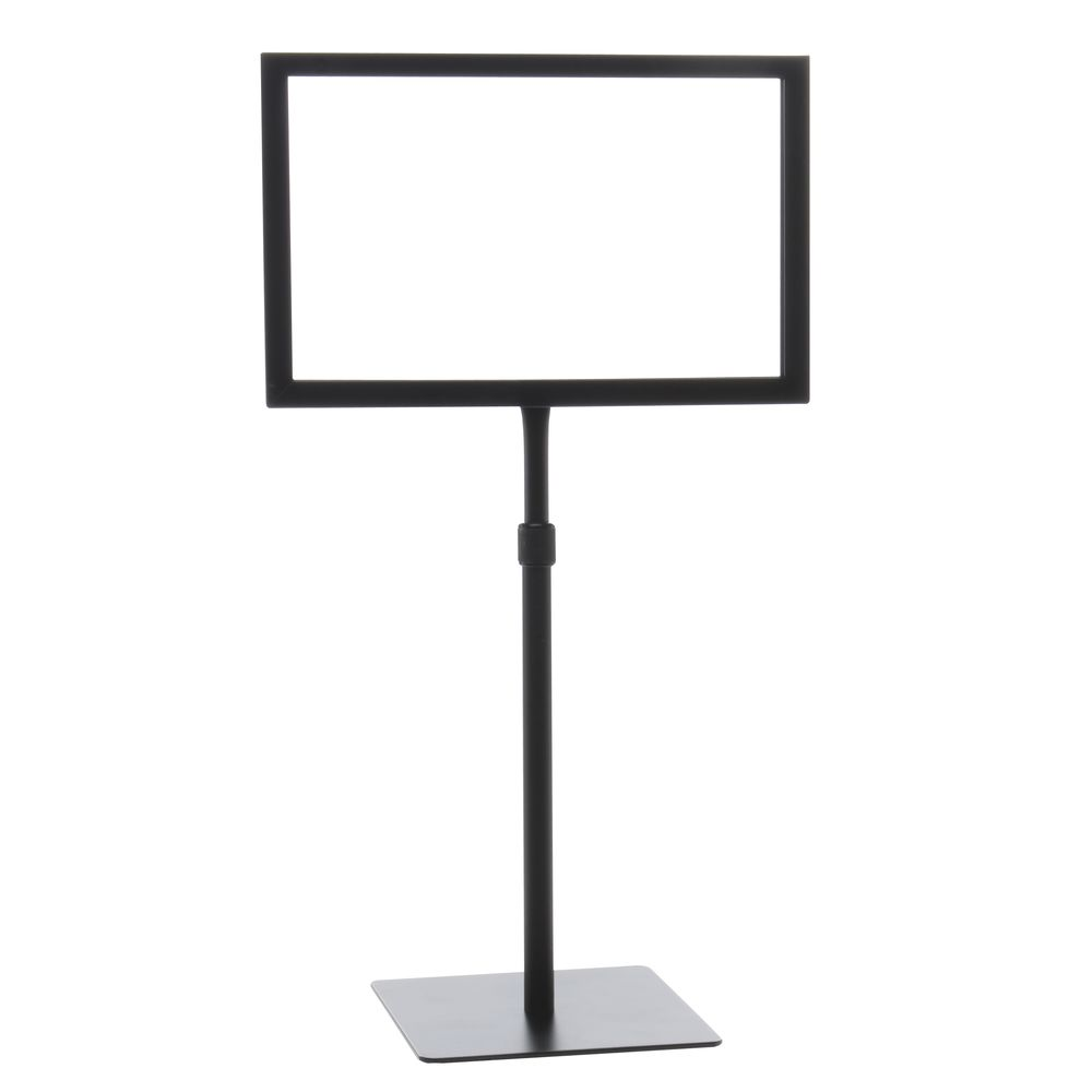 X Tabletop Sign Holders Horizontal - Table top sign holders