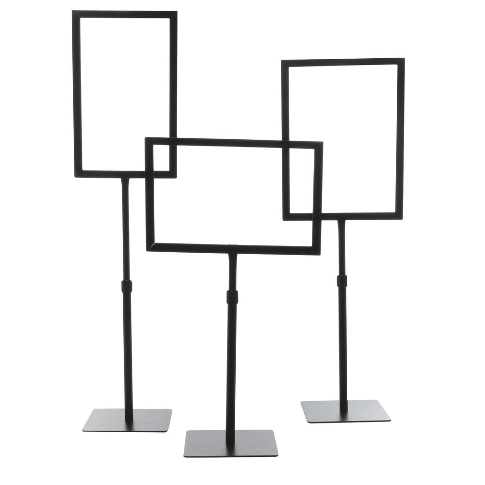 """11"""" x 7"""" Tabletop Sign Holders, Horizontal"""