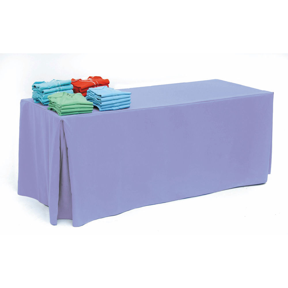 Lilac Display Tablecloth for 8ft Tables