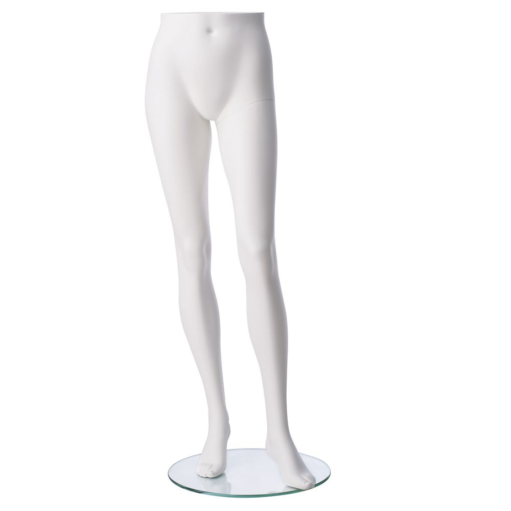 "FORM, PANT, FEMALE, FIBERGLASS, WHITE, 46""H"