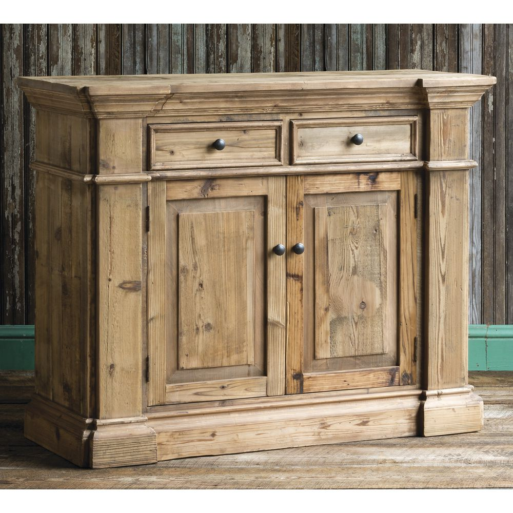 CABINET, CONSOLE, PINE, NATURAL